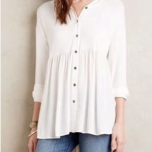 Anthropologie Everleigh High Low Tunic